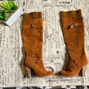 Seychelles knee high sweater top boots